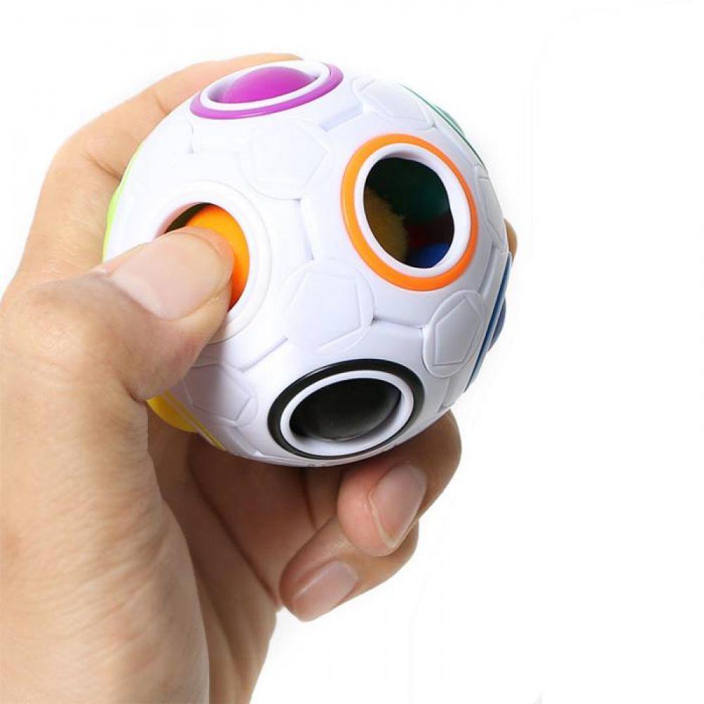 Toy Fidget-Toys Magic-Cube Ball Puzzle Rainbow Learning Plastic Educational Creative img5