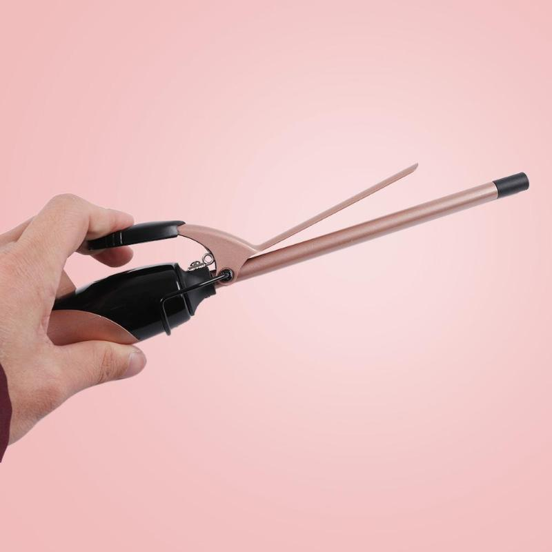 Mini Electric Hair Curling Iron Professional Hair Curler Roller Waver Curling Wand Hairdressing Styling Tool EU Plug
