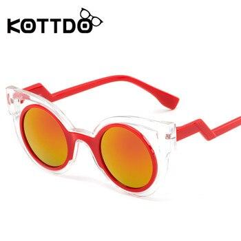 KOTTD Steampunk Kids Sunglasses Goggle P...