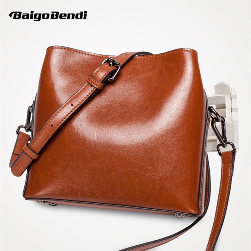 Retro Koe Split Lederen Kleine Tas Vrouw Vierkante Flap Messenger Bag Zip Crossbody Mode Tas Bucklet Riem Handtas Dames - 1
