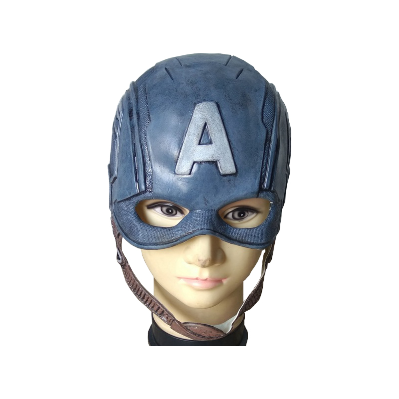 Movie Captain America 3 Civil War Captain America Mask Cosplay Steven Rogers Superhero Latex Helmet Halloween For Men Party Prop in Boys Costume Accessories from Novelty Special Use