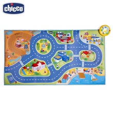 Игровой коврик Chicco Electronic City Playmat 2г+