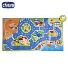 Игровой коврик Chicco Electronic City Playmat 2г+