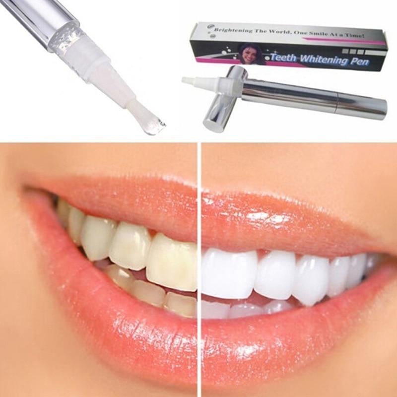 Effective Teeth Whitening Pen Tooth Gel Whitener Bleach Remove Stain Eraser Sexy Celebrity Smile Teeth Care Oral Hygiene #1102