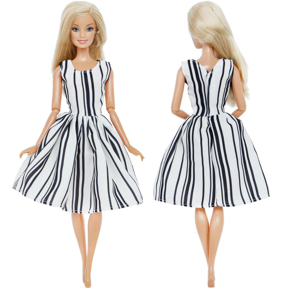7b9d9969e73e0 Fashion 5x Dress Mixed Style Wedding Party Gown Princess Skirt Clothes for  Barbie Doll Accessories Dollhouse Girl's DIY Toys