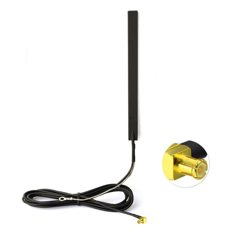 Superbat DAB + Glass Mount Active DAB Digital Car Radio Aerial Antenna MCX Male Plug RA Connector For CDAB7-AUTO