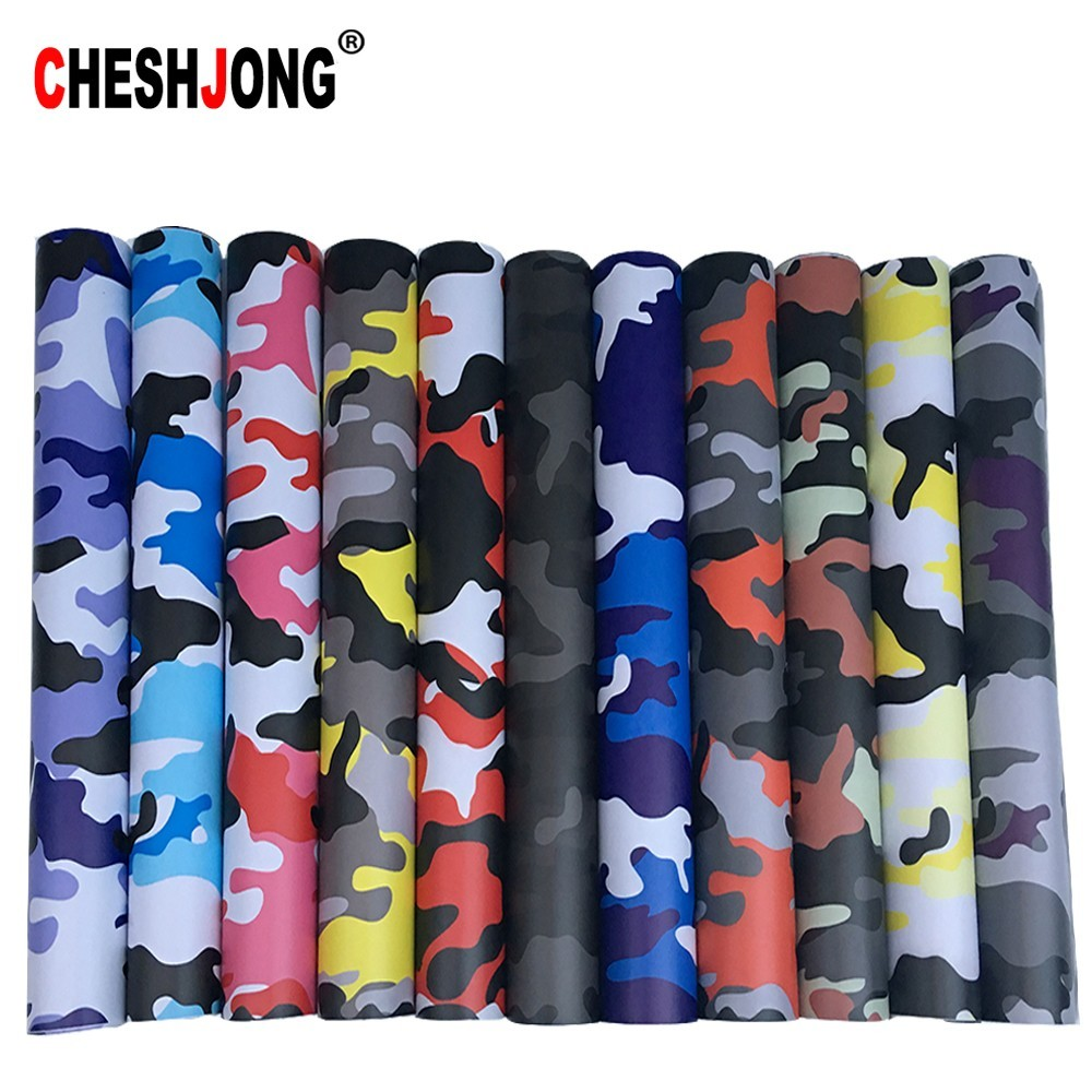 11 Kinds 7 Sizes Black Camo Vinyl Film Camouflage Car Wrap Film For Car Styling Bike Computer Laptop Scooter Motorcycle