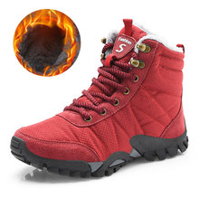 hot deal buy 2018 womens boots winter with fur warm snow boots winter super warm comfortable snow boots fashion rubber ankle shoes 36-42
