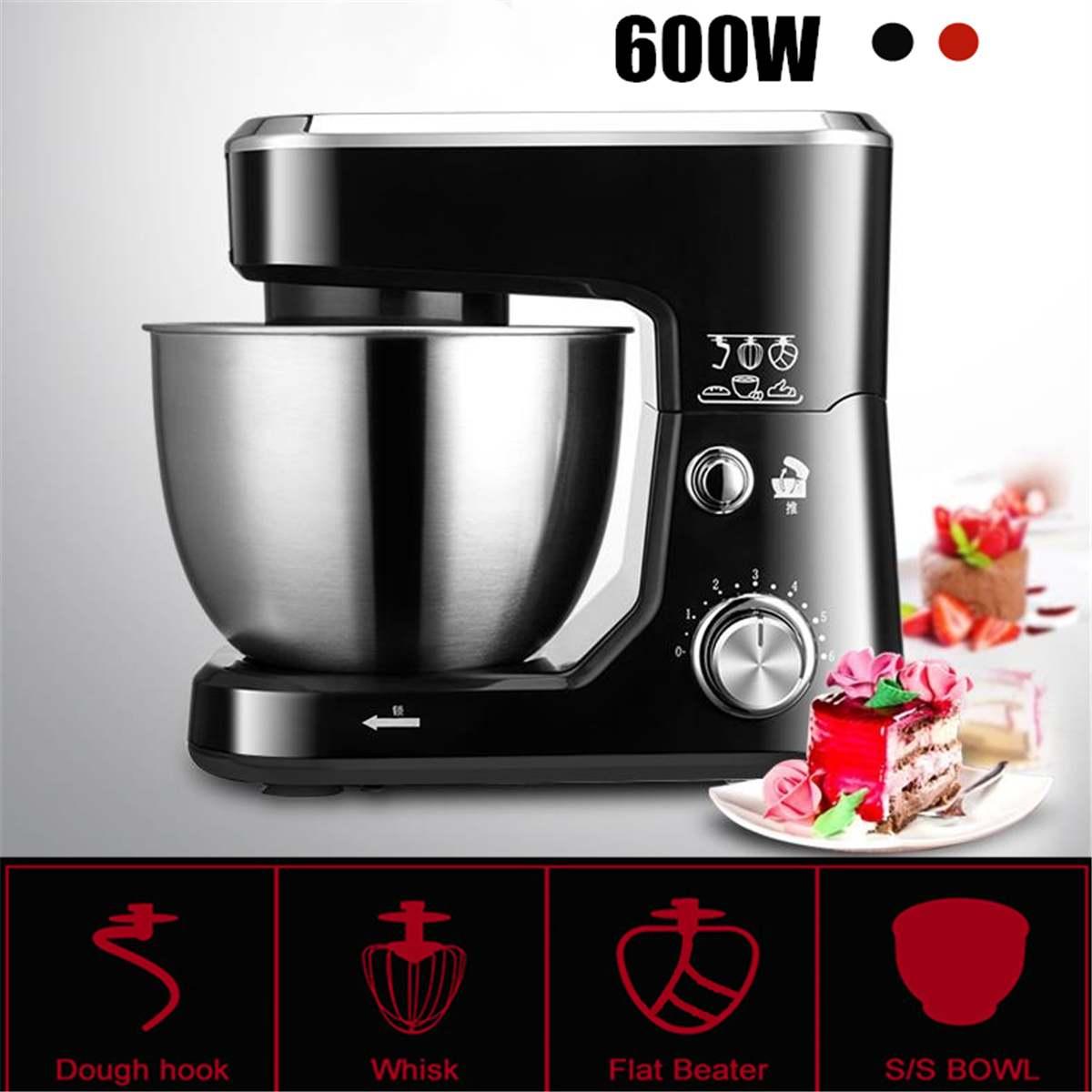 1200W Bowl lift Stand Mixer 4L Kitchen Stand High Power Food PMilkshake/Cake Dough Kneading Machine Blenders Home Smoothie Maker