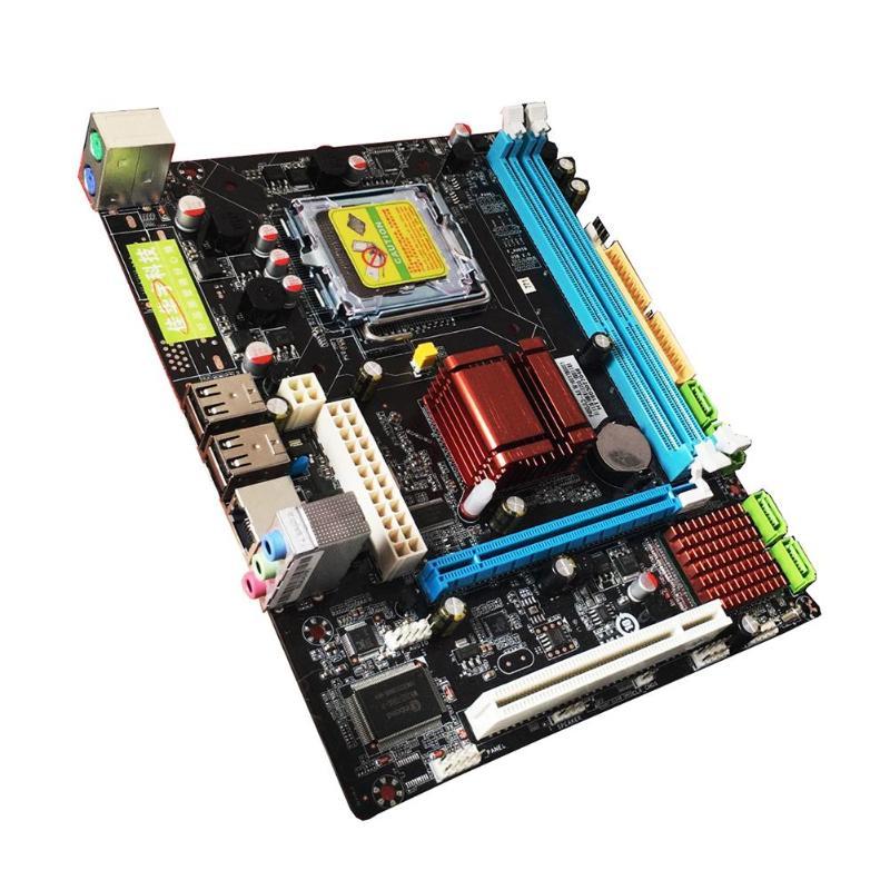 Pour Intel P45 carte mère de bureau carte mère LGA 771 LGA 775 double carte DDR3 Support L5420 DDR3 USB carte réseau SATA IDE