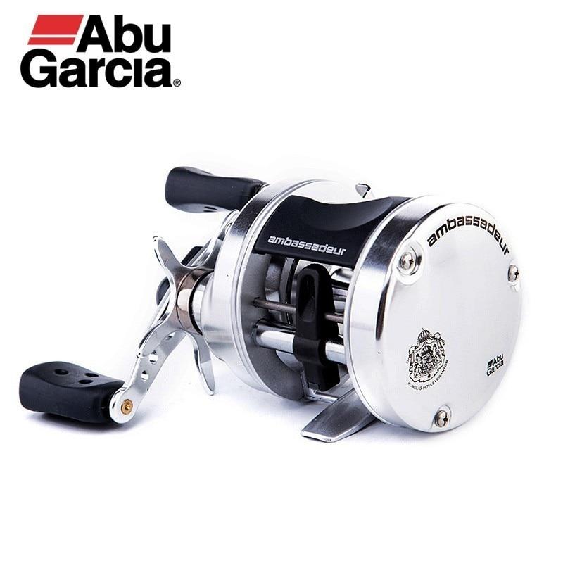 Original Abu Garcia Ambassadeur S Lure Fishing Reel 5500/5501 Right Left Hand Baitcasting Reel 5.1:1 RATIO 4.95kg Drum Fish Gear