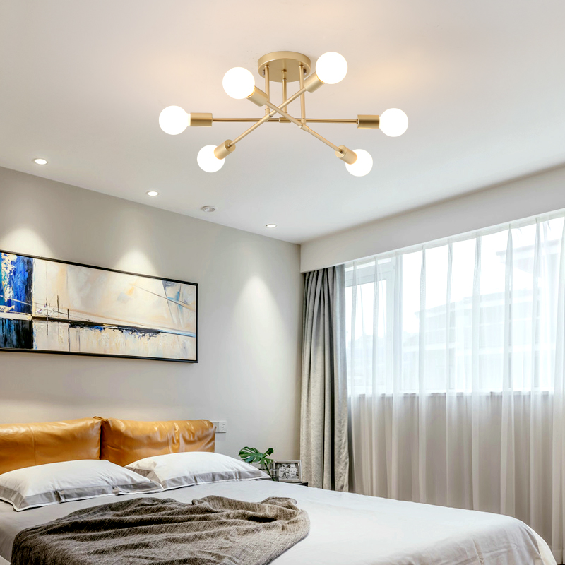 Modern Bedroom Ceiling Decorations Emo Bedroom Decor Bedroom Ideas For Young Adults Men Zombie Bedroom Ideas: Modern LED Chandelier Living Room Bedroom Decoration