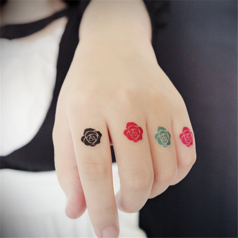 Rozen Maiden Rose Props waterdicht Animatie Cartoon logo tatoo tattoo Stickers Sticker XR004