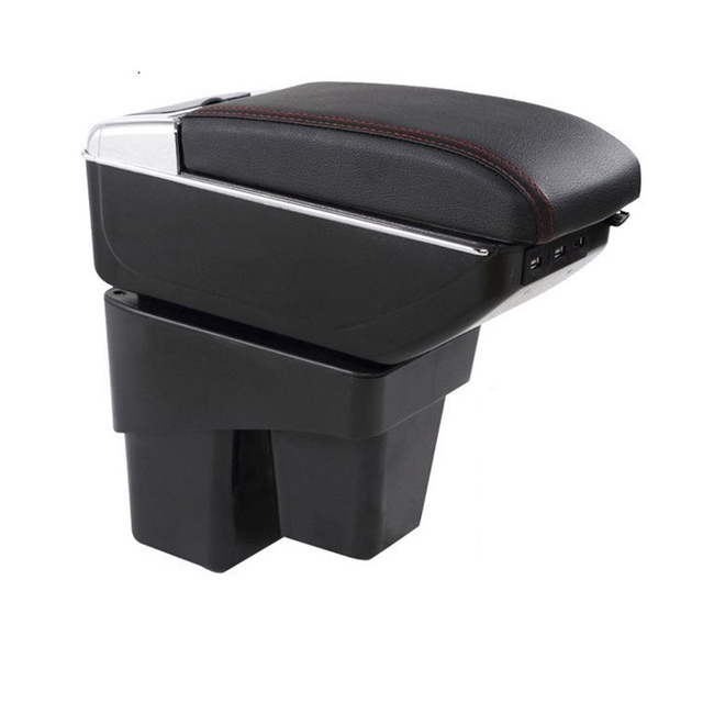 Auto Parts Arm Rest Car Car-styling Accessories Styling protector Modified Automovil Armrest Box 08 09 10 11 12 13 FOR Honda Fit