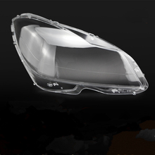High Quality Car Left/Right Clear Headlight Lens Shell Cover Lamp Assembly For Mercedes Benz W204 C Class 2011-2013 Replacement