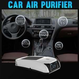 Solar Car Air Purifier Formald