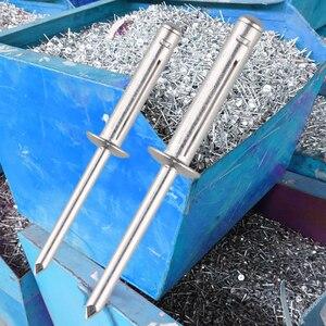 Image 3 - 500 stücke. Blind falten nieten aluminium niet klapp typ 4,0mm, 4,8mm