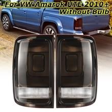 1 пара автомобиля для VW Amarok 2010 2011 2012 2013-2018 противотуманная фара Задний фонарь задний фонарь тормозной сигнал свет Дым Задний фонарь пикап