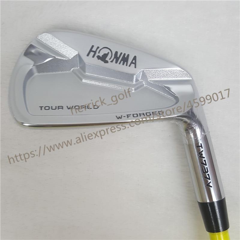 Golf Clubs irons set HONMA TW737V Golf iron set 4-9 10 Clubs NS.PRO Steel Graphite Golf shaft R/S Flex Free shipping