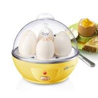 Automatic Power off 6 Eggs Maker Boiler Cooker Steamer Poacher Multifunctional Mini Electric Egg Cooker Boiler
