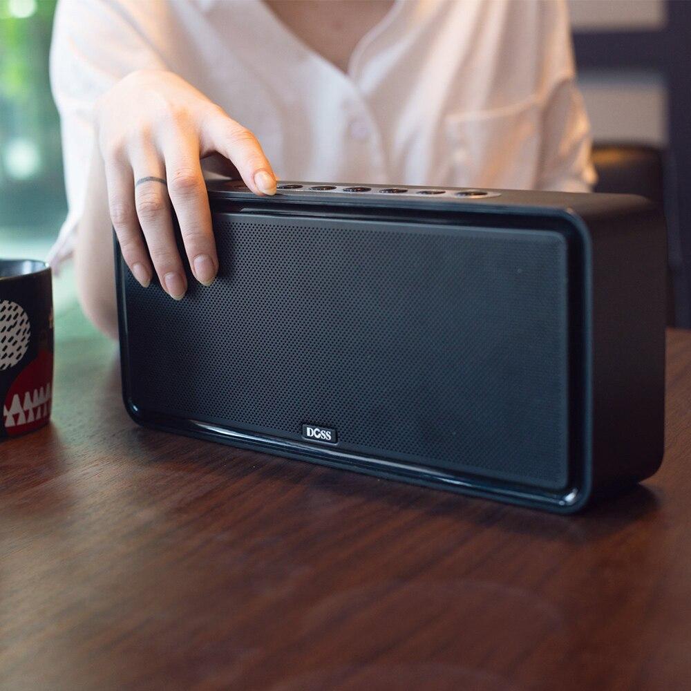 Doss DS 1685 portátil sem fio bluetooth soundbar alto falante som estéreo de alta qualidade 3.5mm entrada áudio aux subwoofer - 4