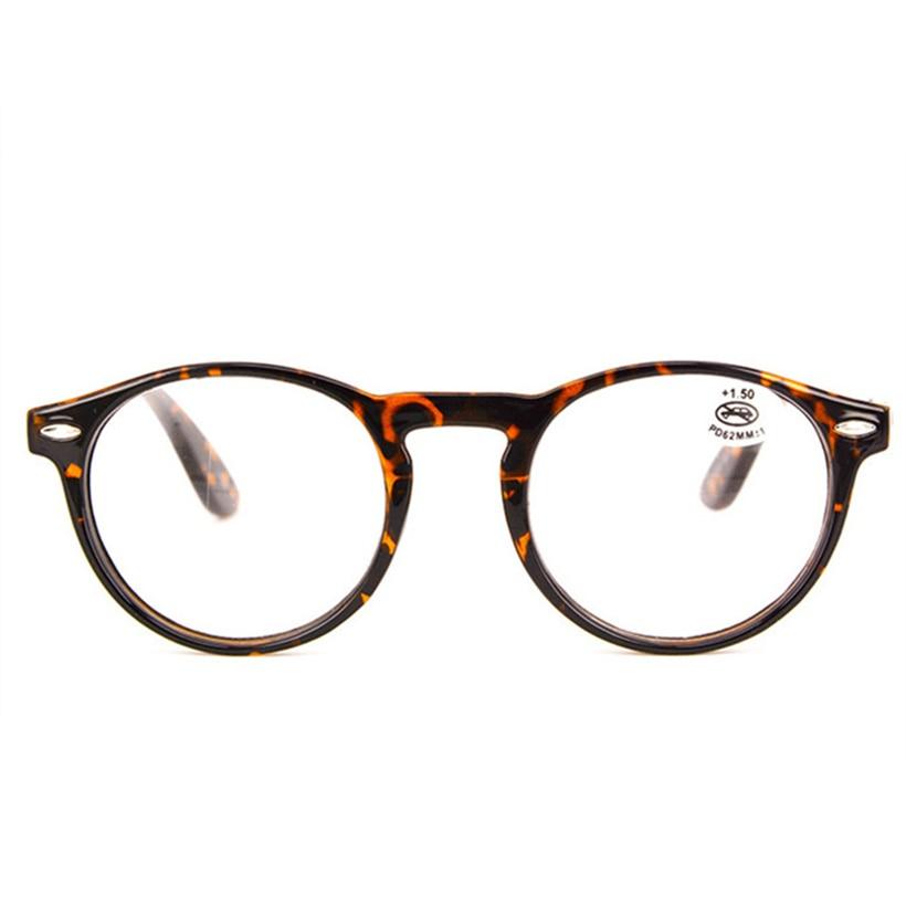 XojoX Ultraleve Moda Rodada Óculos de Leitura Hipermetropia Óculos Das  Mulheres Dos Homens Do Vintage Óculos e0b6f8155d