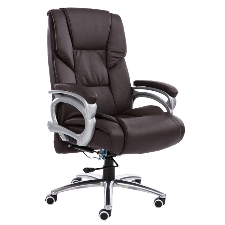 Купить с кэшбэком High Quality Computer Chair Household Leisure Lying Boss Chair Rotary Lifting Office Chair Aluminum Alloy Foot Swivel Chair