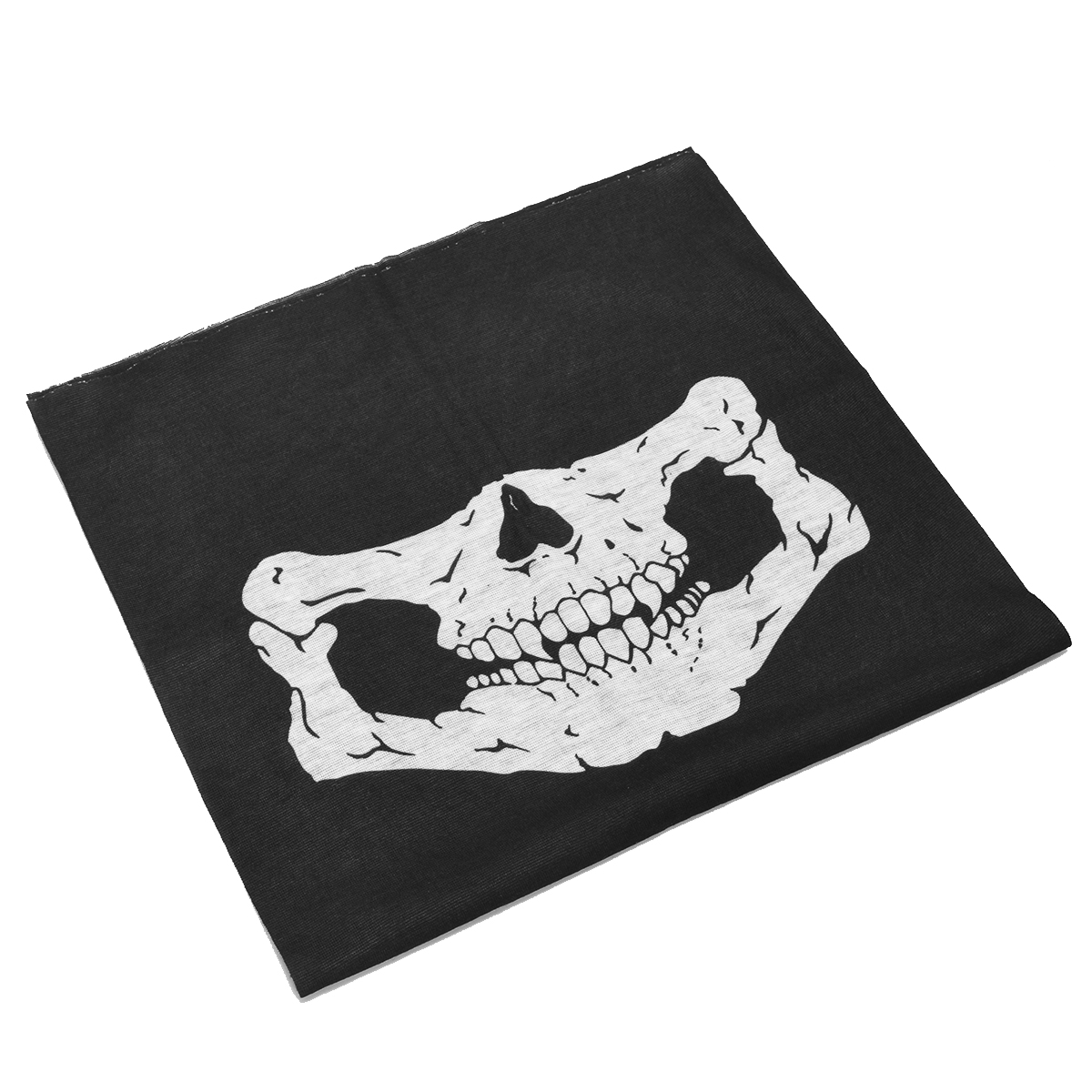 US $1 06 29% OFF|Cool Bandanas Skull Motorcycle Neck Half Face Ghost Mask  Paintball Game Headband Multi Masks Scarf Half Face Mask Cap Neck-in