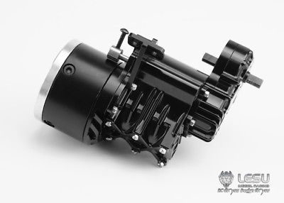 LESU 2Grade High Torque Gear Box Transmission D for 1/14 RC Tractor Truck Tmy   TH02228