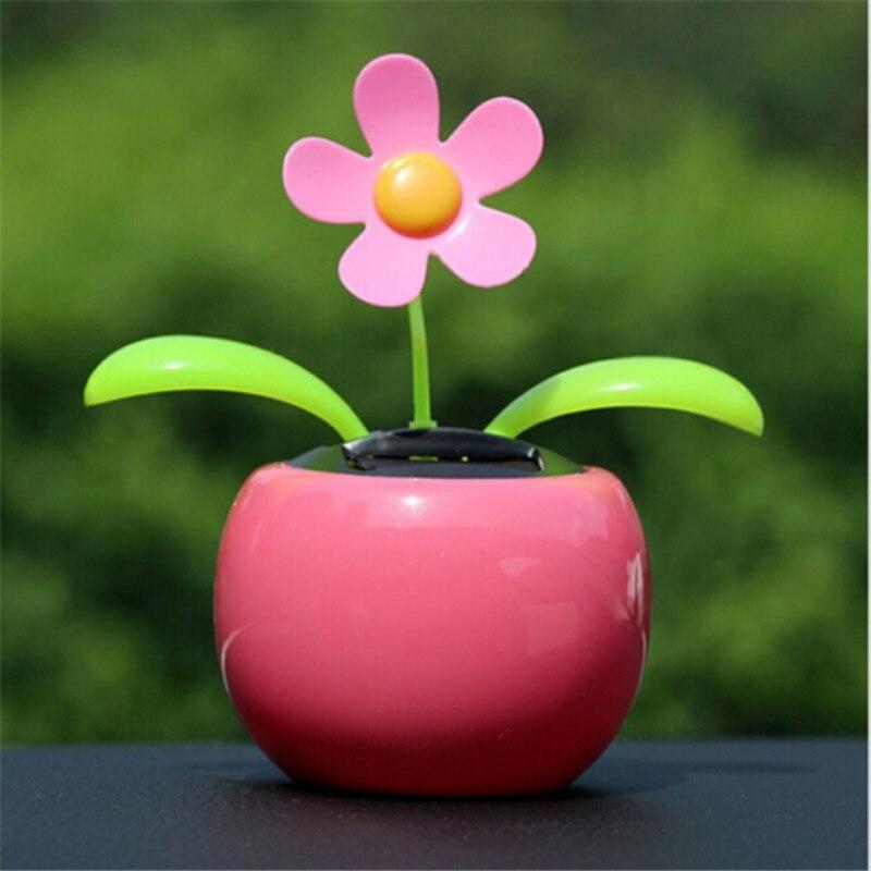 Miniatures-Figurines Flower Flip-Flop-Leaves Vehicle Resin Dancing Cute ABS 5-Colors