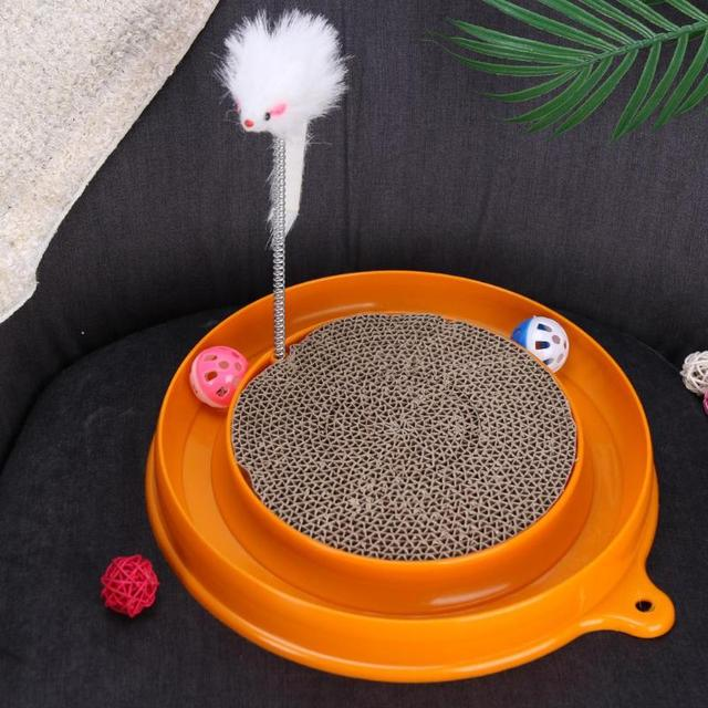 Cat Feeding Board with Mouse 3