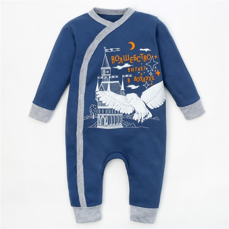 Фото - Jumpsuit Crumb I Little magician height 62-68 cm, (R-R 22), blue 3856968 r 36