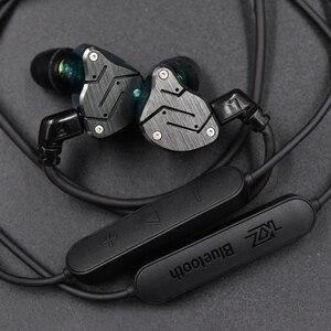 Image 3 - KZ Waterproof Aptx Bluetooth Module 4.2 Wireless Upgrade Module Cable Applies Original Headphones Earphones For ZS10 ZSN Pro ZST