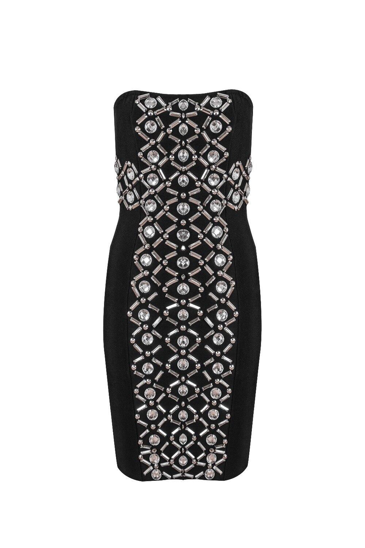 Perles Lacée Tenue Noir Qualité Femmes Celebrity Bretelles Fête Élégant Robe Sexy 2018 De Top 0RxU6q6