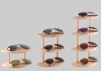 новый полу круглые деревянные подставка для солнцезащитных
