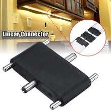 Линейный разъем для Светодиодный шкаф для ванной комнаты кухонная полоска освещения