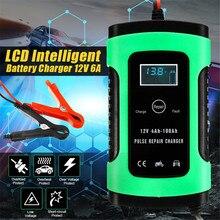 12V 5A Авто интеллигентая(ый) Батарея Зарядное устройство скачок стартер ЖК-дисплей интеллигентая(ый) 100-240V 100AH импульсов ремонт Тип