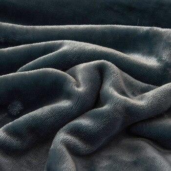 Couverture De Couleur Corail   Couverture De Couleur Unie Côté AB Couverture épaisse Double Couche Pour Adulte Canapé Literie Flanelle Et Bébé Couverture De Jet De Velours 200x230 Cm