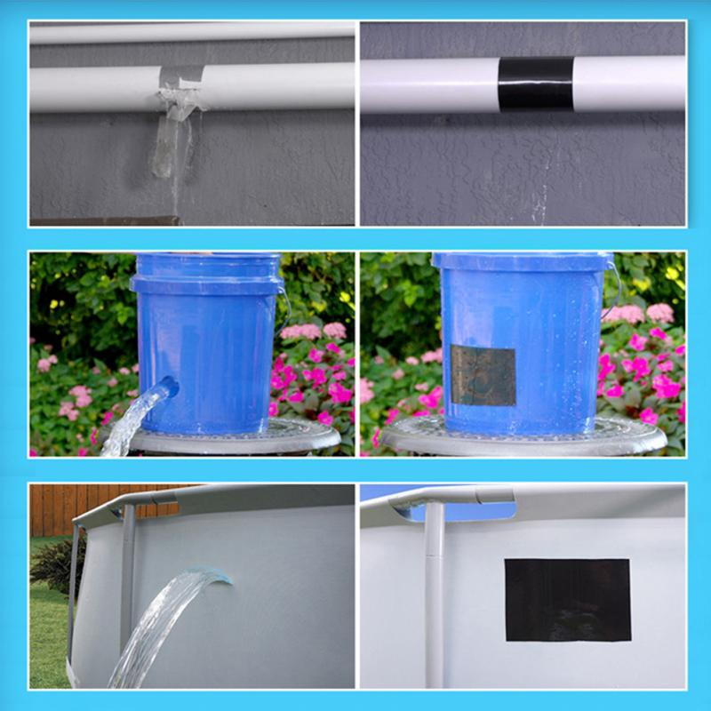 Quick Repairing Stop Leak Tape Super Strong Flex Leakage Repair Waterproof Tape For Garden Hose Pipe Water Tap Bonding #30