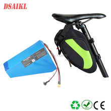 customized electric bicycle battery 36V 17Ah Lithium ion NCR18650B ebike battery pack and charger free shipping 36v electric bicycle battery box e bike lithium battery case for 36v li ion battery pack not include the battery