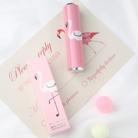 Wholesale 3 Color Highlight Moisten lipstick Long Lasting Makeup Water proof lipstick with Fruit or Wine Bottle or Crane