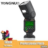 YONGNUO YN968N Wireless Flash Speedlite YN968 N TTL Equipped with LED Light for Canon Nikon DSLR Compatible with YN622N YN560