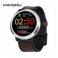 Blood Pressure Monitor Smart Watch Heart Rate Digital Tensiometer Adjustable Portable Health Care Black Measuring Equipment