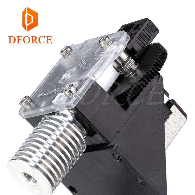 Titan Extrusora para impressora desktop FDM 3D DFORCE bowden reprap MK8 J-cabeça frete grátis anet MK8 I3 montagem suporte