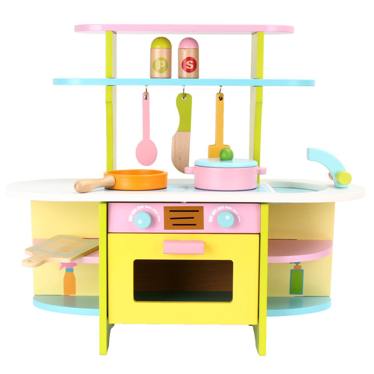 Miniature Kitchen Wooden Pretend Play Food Children Kids Toys for Girls Boys Simulation Cooking Cookware Kitchen Baby Toys Set