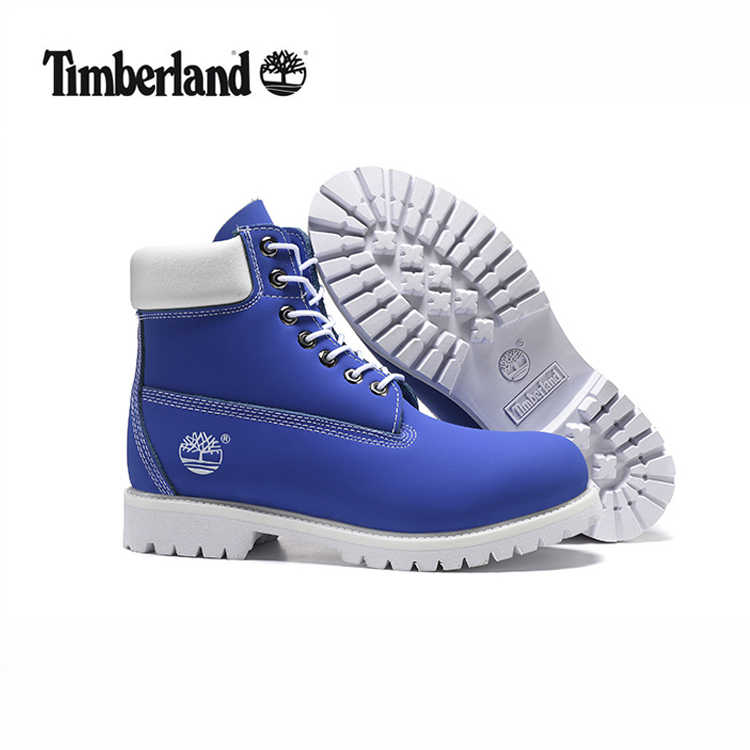 Recuerdo fluir ritmo  TIMBERLAND hombres 10061 azul cielo blanco masculino motocicleta Martin  botines botas del Ejército, de los hombres de cuero para actividades al  aire libre calle Casual zapatos 40 45|Botas de motocicleta| - AliExpress