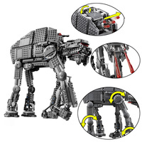 1541pcs Diy Building Blocks Star Wars First Order Heavy Assault Walker Comptiable With Legoingly Toys For Children kids gift