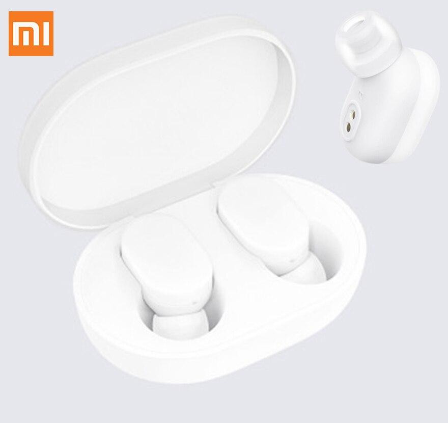 TWS AirDots Airdots AirDots & Redmi Xiaomi Fones de Ouvido Bluetooth Bluetooth Fone de Ouvido fone de Ouvido Fones De Ouvido Handsfree Inteligente Controle AI