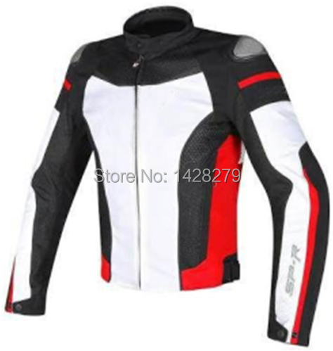 Riding-Jacket Lining Textile-Racing Motorcycle Dain 5-Protectors Super-Speed Windproof title=