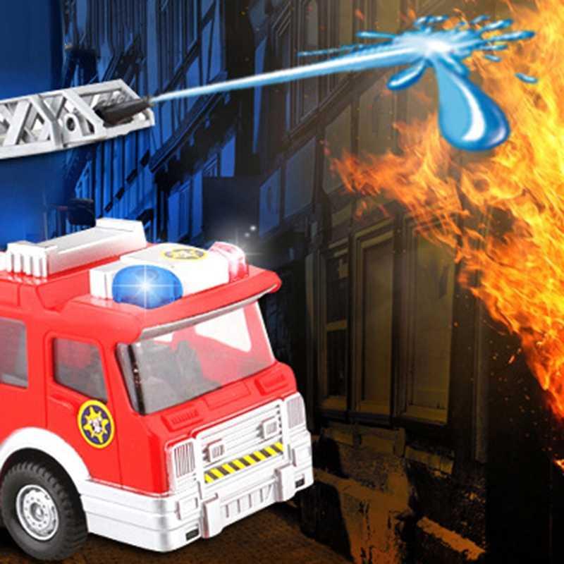 Вода спрей игрушка «пожарная машина» автомобиль игрушка пожарная машина Пожарный Сэм пожарная машина автомобиль музыка свет обучающая игрушка